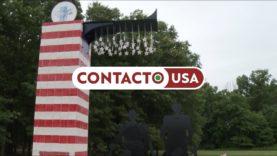Monumento à família americana em Edison, NJ